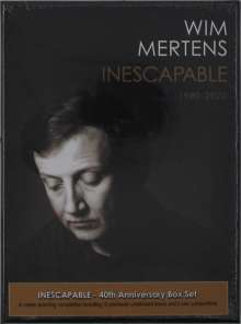 Wim Mertens (geb. 1953): Inescapable, 4 CDs