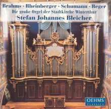 Stefan Johannes Bleicher - Orgel der Stadtkirche Winterthur, CD