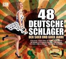 48 deutsche Schlager der 50er & 60er Jahre, 2 CDs