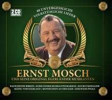 Ernst Mosch: 48 unvergessliche volkstümliche Lieder, 2 CDs