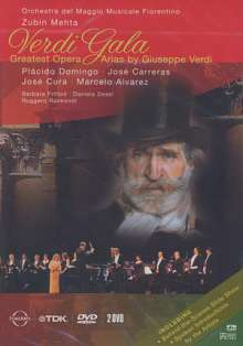 Verdi-Gala - Greatest Opera Arias, 2 DVDs
