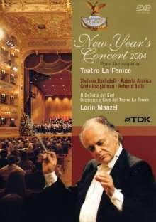 Neujahrskonzert 2004 (Teatro la Fenice) mit Lorin Maazel, DVD