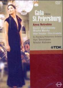 Anna Netrebko & Dmitri Hvorostovsky - St. Petersburg Gala, DVD
