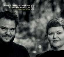 Kristjana Stefans & Svavar Knutur: Fadmlög, CD