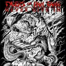 """Tygers Of Pan Tang: Never Give In, Single 7"""""""