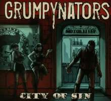 Grumpynators: City Of Sin, CD