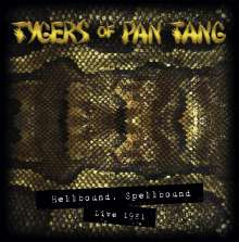 Tygers Of Pan Tang: Hellbound, Spellbound Live 1981 (Remixed & Remastered) (180g) (Limited-Edition-Box-Set) (Gold Vinyl), 2 LPs und 1 CD
