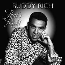 Buddy Rich (1917-1987): That's Rich!, CD