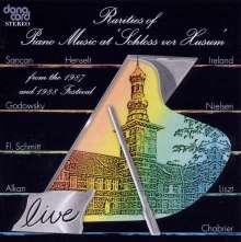 """Rarities of Piano Music at """"Schloss vor Husum"""" 1988, 2 CDs"""