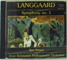 Rued Langgaard (1893-1952): Symphonie Nr.1, CD