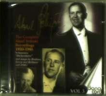 Aksel Schiötz - Complete Recordings Vol.3, CD