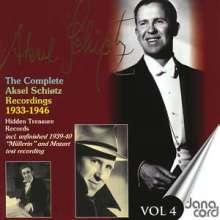 Aksel Schiötz - Complete Recordings Vol.4, CD