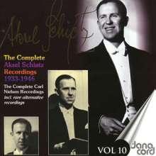 Aksel Schiötz - Complete Recordings Vol.10, CD