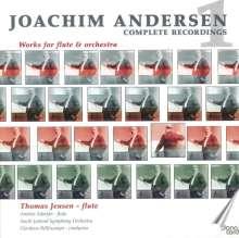 Joachim Andersen (1847-1909): Werke für Flöte & Orchester, CD