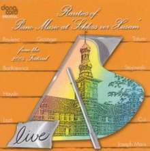 "Rarities of Piano Music at ""Schloss vor Husum"", CD"
