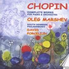 Frederic Chopin (1810-1849): Werke für Klavier & Orchester, 2 CDs