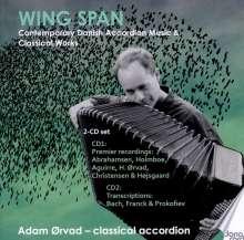 Adam Orvad - Wing Span, 2 CDs