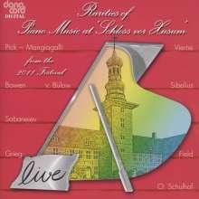 """Rarities of Piano Music at """"Schloss vor Husum"""", CD"""