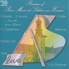 Rarities of Piano Music at »Schloss vor Husum«, CD