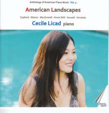 Anthology of American Piano Music Vol.3 - American Landscapes, CD