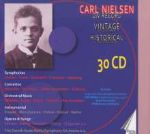 Carl Nielsen (1865-1931): Carl Nielsen on Record (Vintage and other historical Recordings), 30 CDs