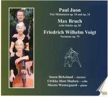 Max Bruch (1838-1920): Stücke für Klarinette, Cello, Klavier op.83 Nr.1-8, CD