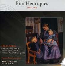 Fini Henriques (1867-1940): Klavierwerke, CD