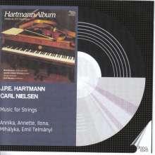 Johan Peter Emilius Hartmann (1805-1900): Charakterstücke op.81 Nr.1-3 für Streichorchester, 2 CDs