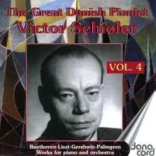 Victor Schiöler - The Great Danish Pianist Victor Schiöler Vol.4, 2 CDs