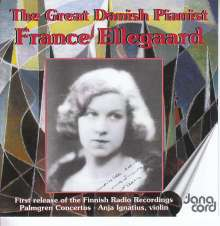 France Ellegaard - The Great Danish Pianist, 2 CDs