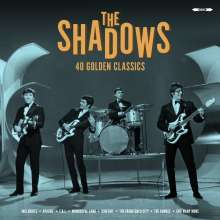 The Shadows: 40 Golden Classics (180g), 2 LPs
