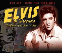 Elvis & Friends - The Beginning Of Rock'n'Roll, 3 CDs