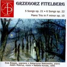 Grzegorz Fitelberg (1879-1953): Klaviertrio f-moll op.10, CD