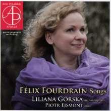 Felix Fourdrain (1880-1923): Lieder, CD