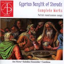 Cyprian Bazylik of Sieradz - Polnische Lieder der Renaissance, CD