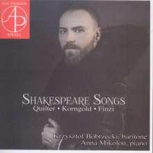 Krzysztof Bobrzecki - Shakespeare Songs, CD