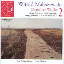 Witold Maliszewski (1873-1939): Kammermusik Vol.2, CD