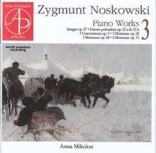 Zygmunt Noskowski (1846-1909): Klavierwerke Vol.3, CD