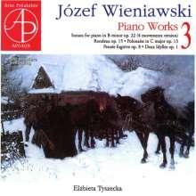 Josef Wieniawski (1837-1912): Klavierwerke Vol.3, CD