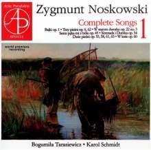 Zygmunt Noskowski (1846-1909): Sämtliche Lieder Vol.1, CD