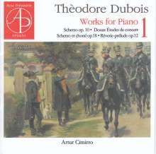 Theodore Dubois (1837-1924): Klavierwerke Vol.1, CD