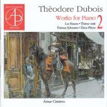 Theodore Dubois (1837-1924): Klavierwerke Vol.2, CD