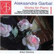 Aleksandra Garbal (geb. 1970): Klavierwerke Vol.1, CD