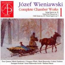Josef Wieniawski (1837-1912): Kammermusik Vol.1, CD