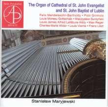 Stanislaw Maryjewski - The Organ of St. John Evangelist & St. John Baptist of Lublin, CD
