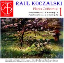 Raul Koczalski (1885-1948): Klavierkonzerte Vol.1, CD