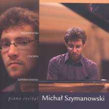 Michal Szymanowski - Piano Recital, CD
