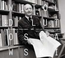 Witold Lutoslawski (1913-1994): Opera Omnia Vol.6, CD