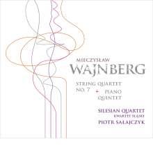 Mieczyslaw Weinberg (1919-1996): Streichquartett Nr.7, CD