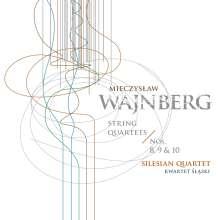 Mieczyslaw Weinberg (1919-1996): Streichquartette Nr.8-10, CD